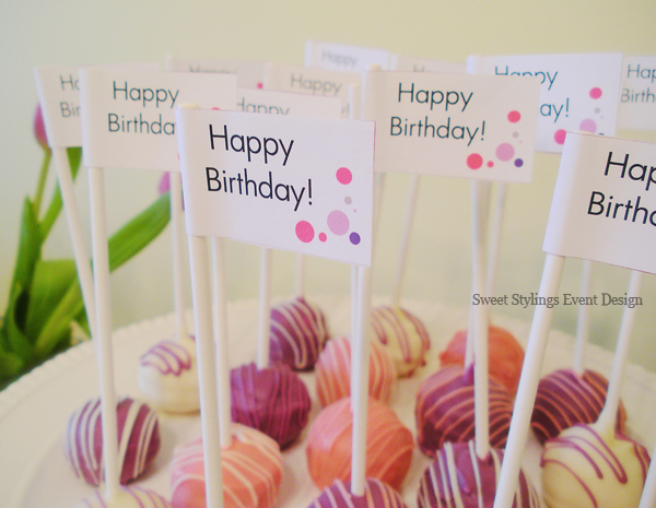 Cake Design And Sweet Expo Zurich : Birthday cake pops - Calgary Wedding Planners Banff ...
