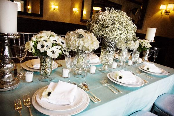 There are TONS of beautiful baby 39s breath centerpiece ideas