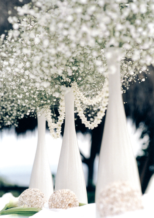 babys breath centerpieces or pair the baby 39s breath arrangement with vases