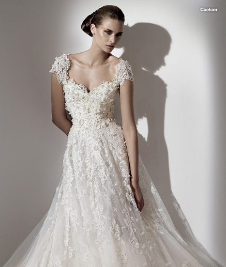 Elie Saab 2011 wedding dress Caelum The Aglaya is one of the more classic