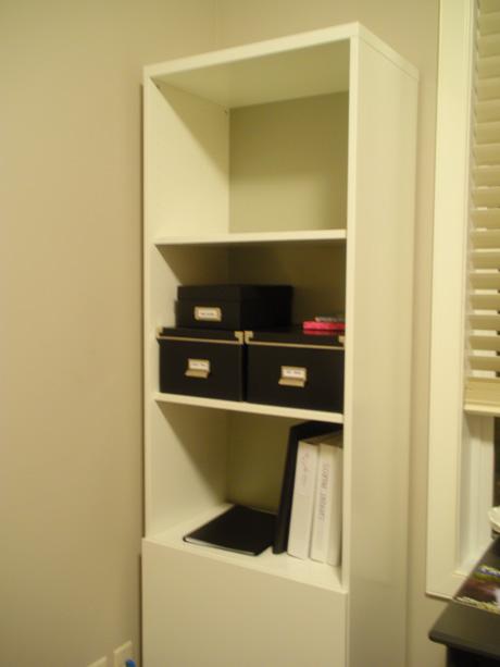 Painted IKEA Besta Shelf unit