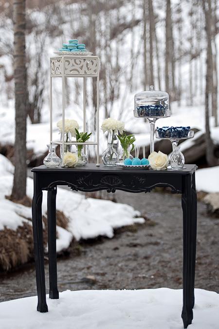 Calgary winter wedding photo shoot