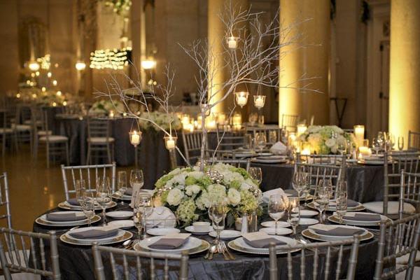 Sabis Blog Urban Parisian And Silver Wedding Table