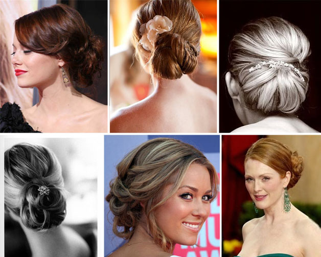 chignons are the picture of sophisticated wedding hairstyle