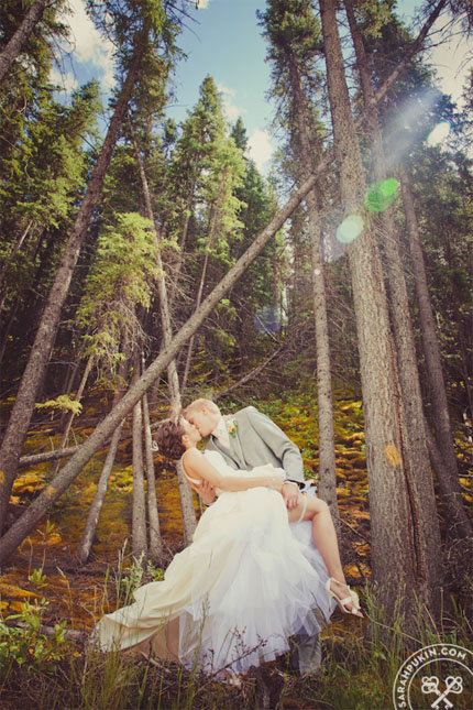 banff wedding_yellow and grey