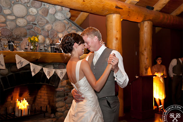 buffalo mountain lodge wedding_first dance