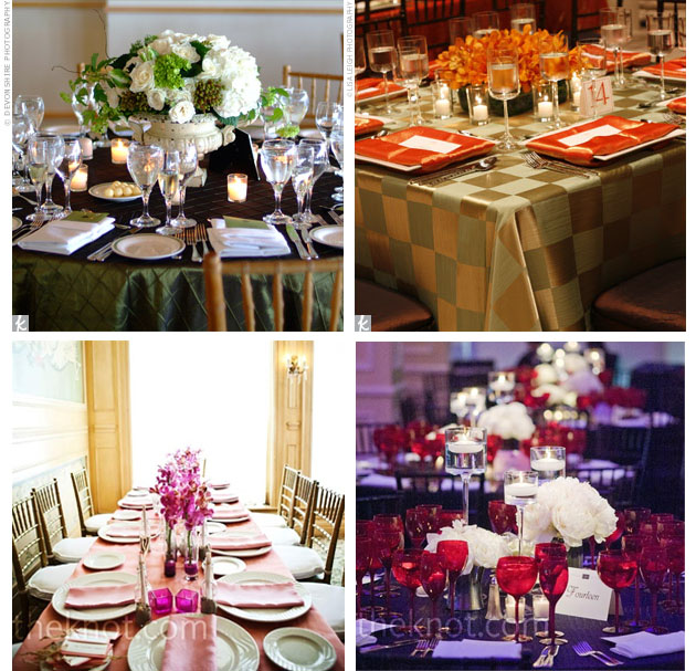 Color Linens Calgary Wedding Design