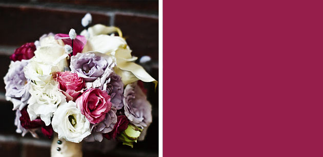 mauve lavender pussy willow bouquet