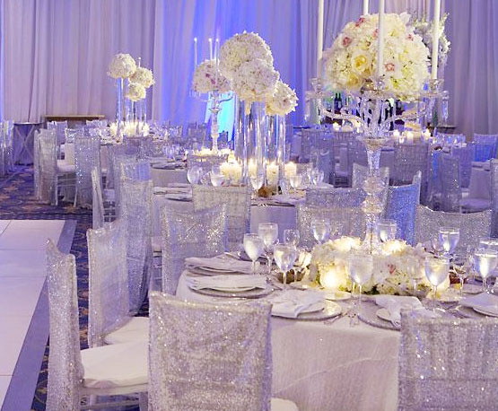 Sparkly White Wedding