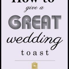 wedding toast tips calgary wedding planner