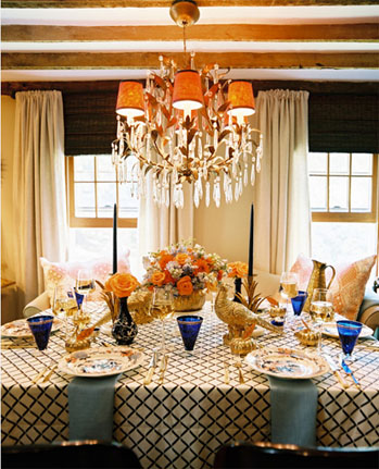 Calgary Wedding Planner Orange Blue Gold Wedding Design