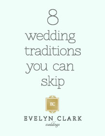 8 wedding traditions to skip