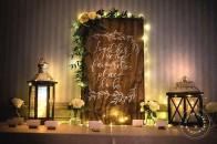 Simple rustic ivory green wedding | Rimrock | Banff wedding | Evelyn Clark Weddings