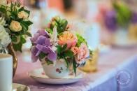 Pastel, French, macarons wedding | Rimrock | Banff wedding venue | Evelyn Clark Weddings