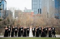 Black white wedding | Calgary wedding venue | Evelyn Clark Weddings