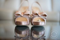 Kate Spade glitter wedding shoes | Calgary wedding | Evelyn Clark Weddings
