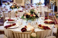 Marsala white ivory pink wedding | Lougheed House | Calgary wedding venue | Evelyn Clark Weddings