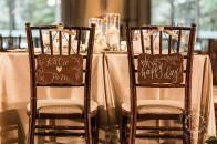 Rustic simple elegance | Wood wedding signs | Rimrock Banff wedding | Evelyn Clark Weddings
