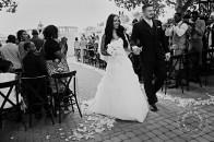 Spruce Meadows outdoor ceremony | Calgary wedding venues | Evelyn Clark Weddings