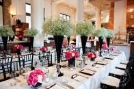 Teatro wedding in pink, black, ivory | Calgary wedding venue | Evelyn Clark Weddings