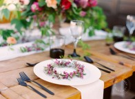 Charbar wedding pink purple rustic modern | Calgary wedding venue | Evelyn Clark Weddings