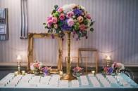 Rimrock wedding reception pastel wedding