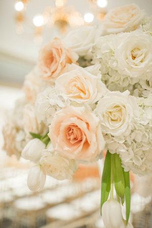 blush white wedding flowers calgary
