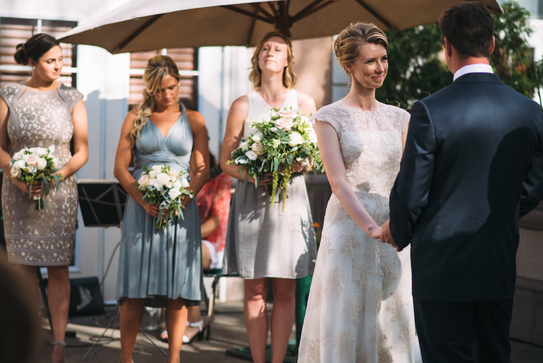 Outdoor-ceremony-calgary-chaumiere · Calgary Wedding