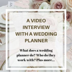 Video wedding planner interview Calgary