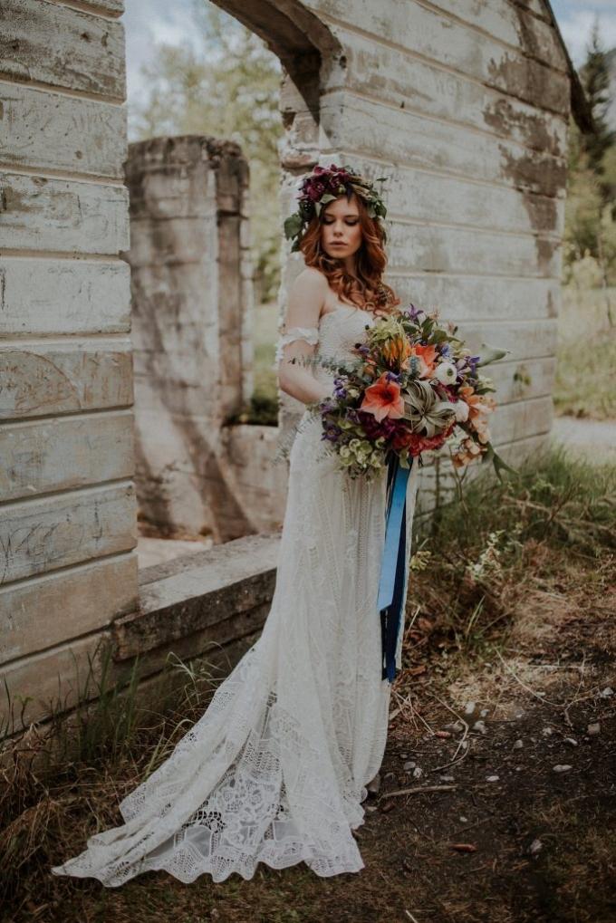 boho bride banff